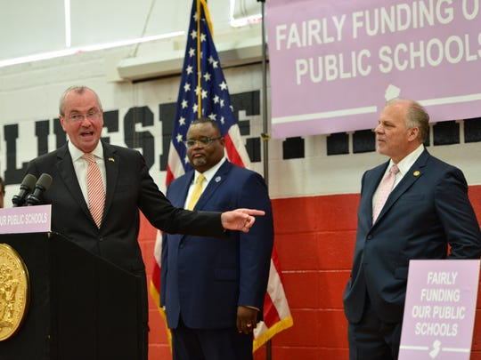 New Jersey Governor Phil Murphy recognizes NJ Senate