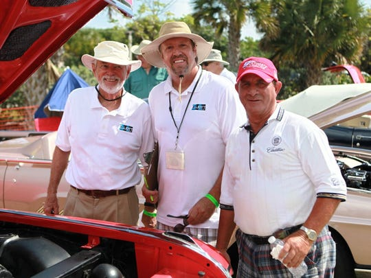 Charles Ulrich, Scott McGillivray, Giovanni Lasalandra are yearly regulars at Classics at the Beach Car Show.