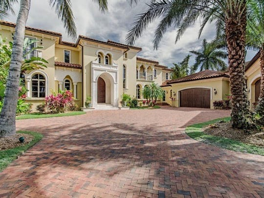 990 Aqua Circle sold for  $10,250,000 in 2016, making