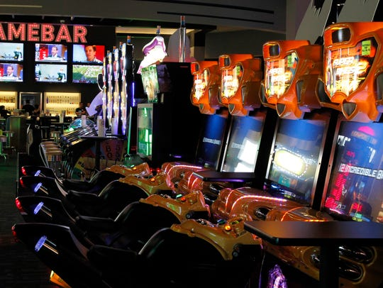 Dave and Buster's offers a huge arcade inside a full restaurant and bar at Tempe Marketplace.