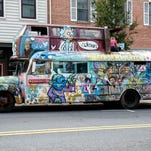 What is the Dragonfly Bus, and why is it in Gettysburg?