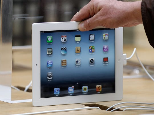 The new iPad 3, listed as featuring 4G connectivity