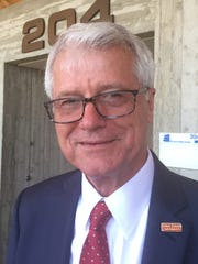 Ben Allen, interim president of Iowa State University