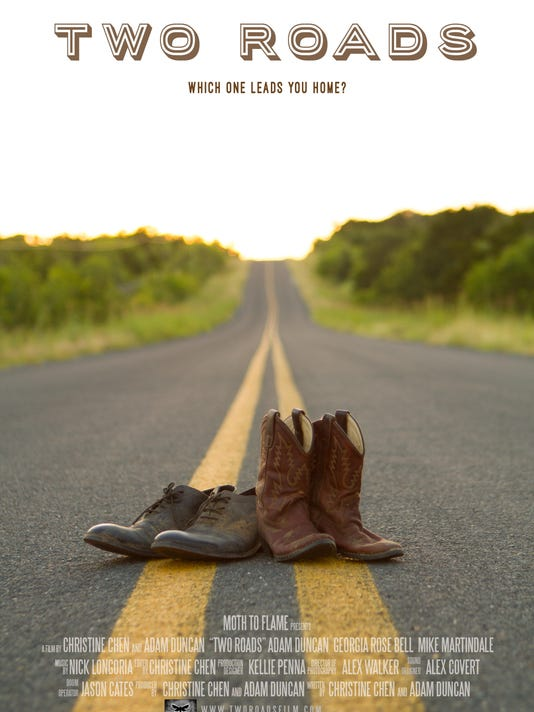 Two Roads Poster 300DPI