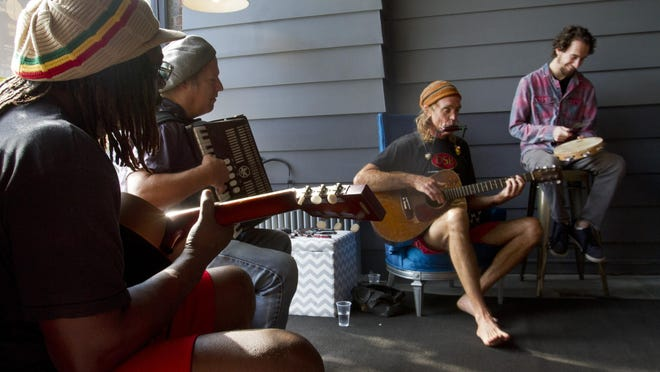 Stringbean will perform at the Bangs Ave. Block party in May.