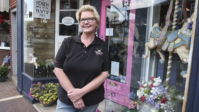 The state denied Cameron Peters a waiver to fulfill online orders from her Phoenixville flower shop. But after being closed for a month, she confirmed with the governor's office that she didn't actually need a waiver to do that  after all.