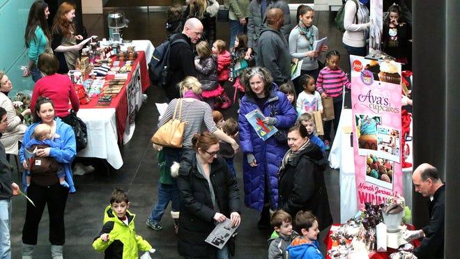 Morris Museum Chocolate Festival on Saturday, Feb. 7, 2015.