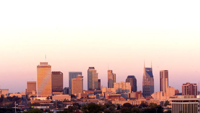 The LifeWay building was on the Nashville Skyline Sept. 2001