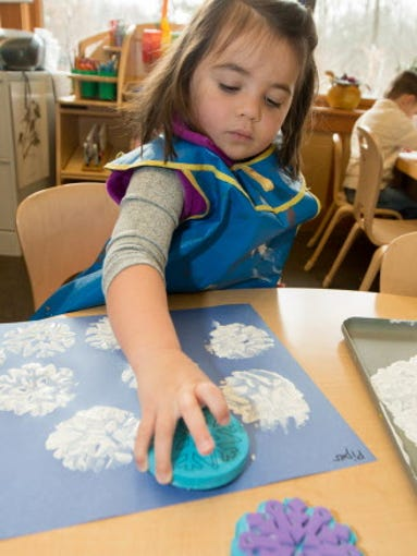The Schlitz Audubon Nature Center has preschool classes,
