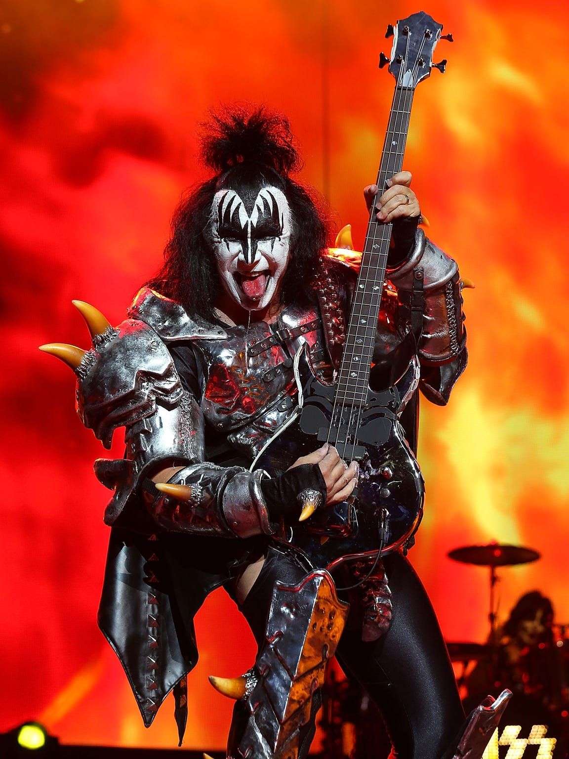Gene Simmons and KISS will play the Resch Center in August.