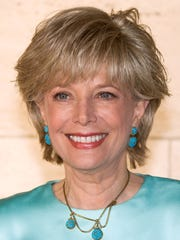 Lesley Stahl arrives at New York City Ballet's Spring