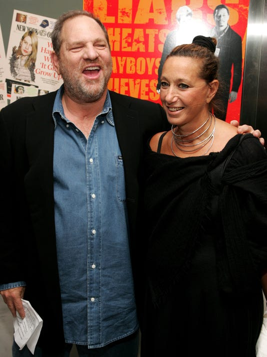 XXX HARVEY WEINSTEIN AND DONNA KARAN.JPG E ACE CIN USA NY