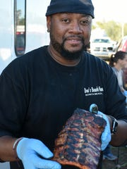 Boss Hogg - Nawty Hogg owner Pat Jackson of Arcadia. Over 30 teams from around the country competed in the 6th Big Swamp Smoke Off barbecue cooking contest, held last weekend at the Collier County Fairgrounds.