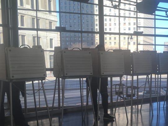 Detroit kept open its main elections office and four