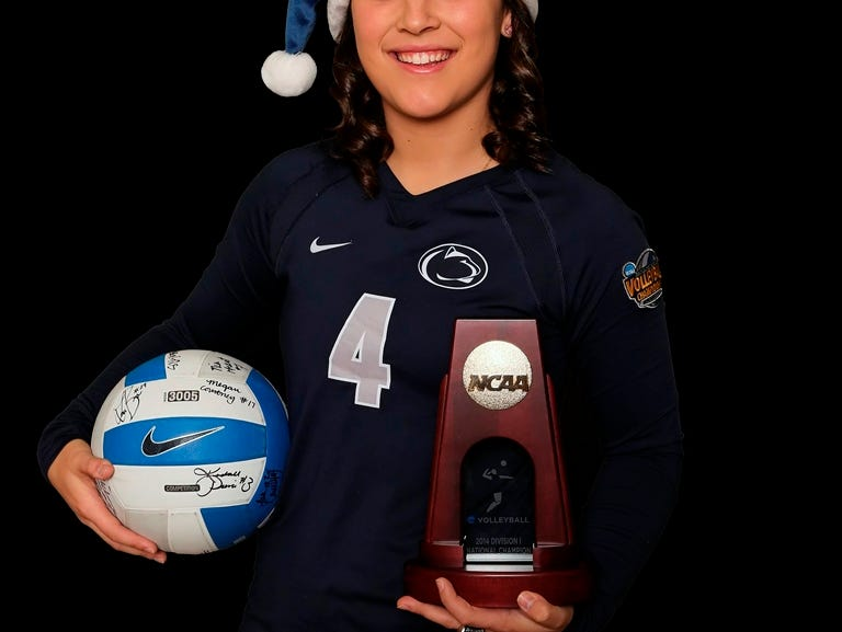 Penn State volleyball standout Dominique Gonzalez, an O'Connor High School graduate, played on teams that won national championships in her junior and senior seasons.