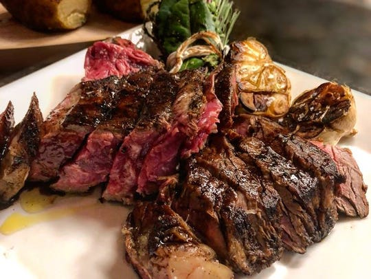 The 38-ounce Porterhouse for two from A Toute Heure.