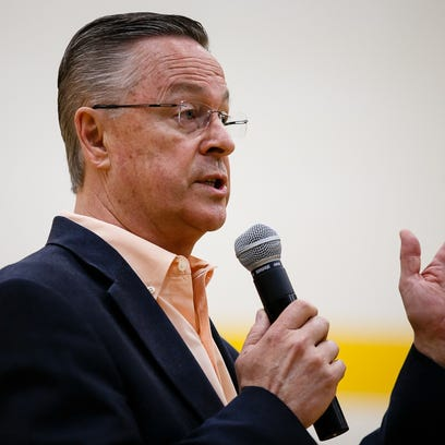 Rod Blum says undisclosed firm wasn't 'doing business'