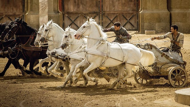 """""""Ben-Hur,"""" a remake of the classic 1959 movie, opens in El Paso-area theaters this weekend."""