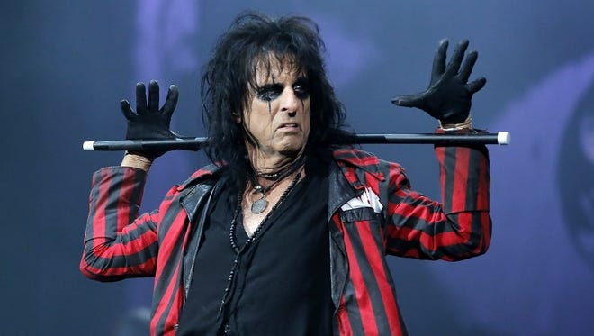 Alice Cooper will perform an early Halloween show Saturday at Fantasy Springs Resort Casino