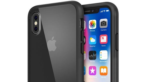This simple case will show off your iPhone X.