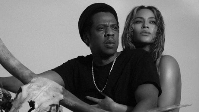 """Beyonce and Jay Z will perform in Philadelphia this summer as part of their """"On the Run II"""" tour."""