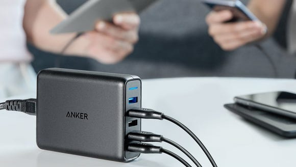 Charge everything at once and fast.