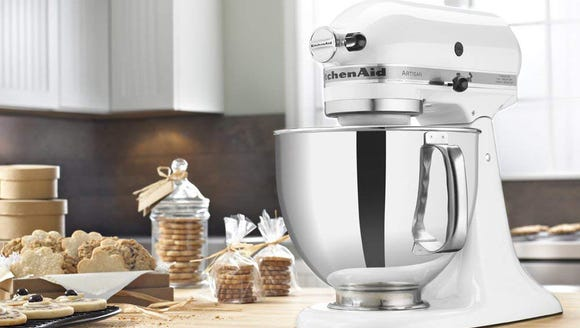 Nothing looks better on the counter than a KitchenAid.