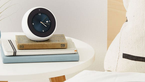 The Echo Spot is at home no matter which room you keep