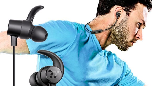 These bluetooth headphones are way on sale