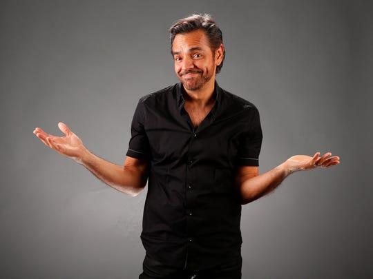 Actor Eugenio Derbez photographed in studio in Phoenix,