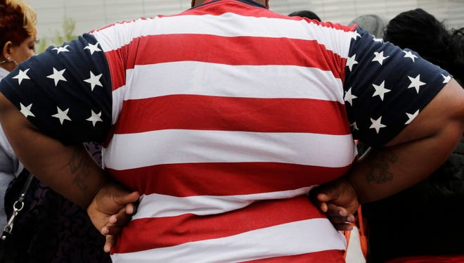 Overweight New Yorker.