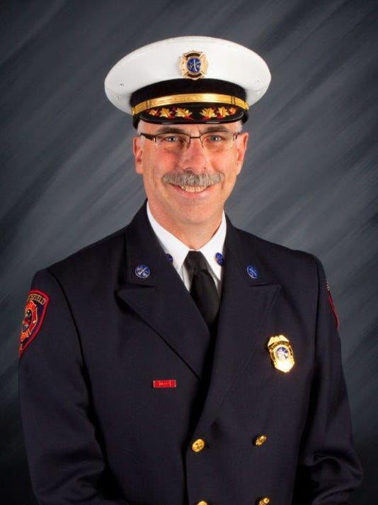 Southfield Acting Fire Chief Barry White