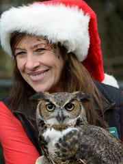 """Take awalk on the """"wild side"""" with a stroll through the holiday lights and the sounds of the wild at the Wildlife Sanctuary on Fridays and Saturdays through Dec. 30."""