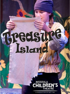 "The Missoula Children's Theatre will perform ""Treasure Island"" at the Grand Opera House Saturday, April 22."