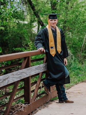 Seminole State College sophomore Corbin Snyder, of Dale, is one of the many graduates that will be recognized at a virtual commencement ceremony on May 8.