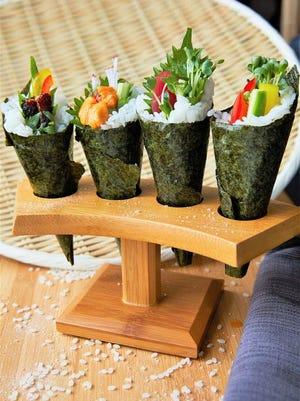 Hand rolls from Kintsugi Sushi Bar