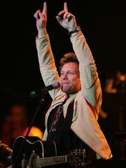 Jon Bon Jovi performes during The Hope Concert III at Count Basie Theatre in Red Bank in August 2014 to raise money for the Valerie Fund Center at Children's Hospital at Monmouth Medical Center.