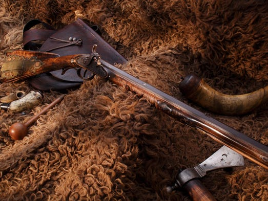 The Grouseland Rifle, made more than 200 years ago