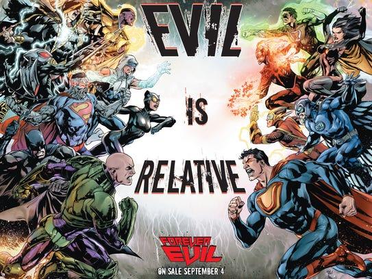 Forever Evil promo