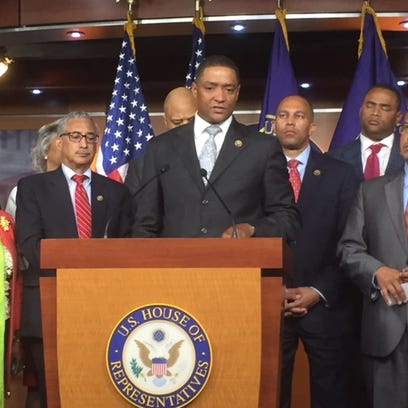 Rep. Cedric Richmond, D-La., is slated to speak to