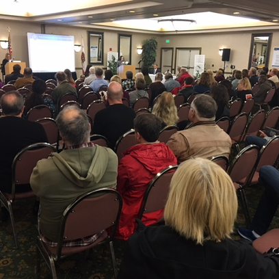 About 100 people attended a public meeting Saturday