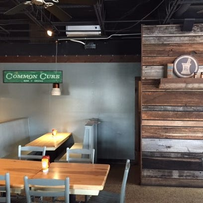 The Common Cure Bar & Grill will open at 15 Conestee