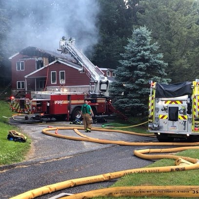 Crews were called to the scene of a fatal fire Wednesday,