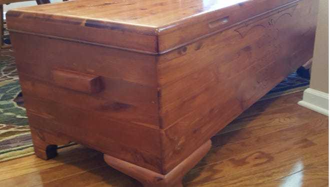 Painting this cedar chest would greatly lower its value.