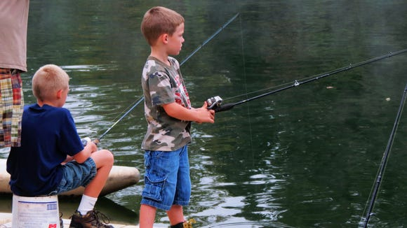 The NC Wildlife Commission and other partners will hold free kids fishing events across Western North Carolina this weekend.