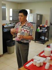 Food scientist and associate professor Jian Yang discusses
