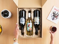 4-Bottle Wine Delivery for Only $26