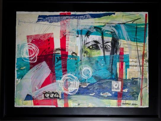 """A Look,"" by Venzuelan artist Mariana Cano"