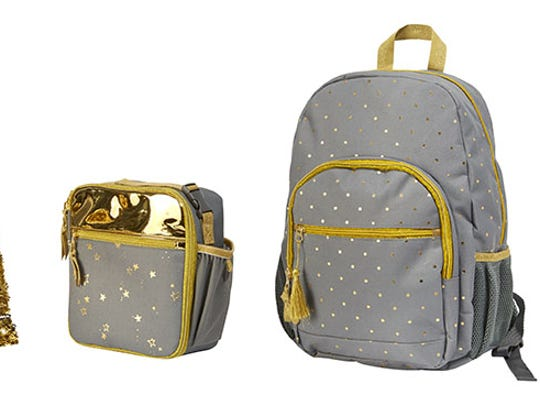 Target has Cat & Jack backpacks starting at $14.99.