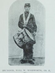 Civil War drummer Hall Woodworth from Essex. He contracted